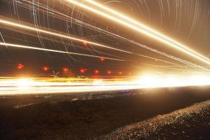 These Lights at Night by coulombic