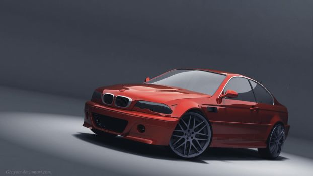 BMW e46 Coupe by gcayote