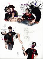Mkmarkiplier Doodles by DeathRage22