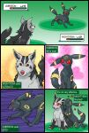 Mightyena vs Umbreon by RacieB