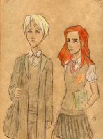 Scorpius and Rosy by Dinoralp