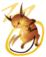 Shocker Raichu by SDevilHeart