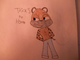 Tricks the Hyena/Hyeetah by DerpStash