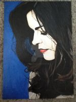 Jenna Coleman painting (Complete) by doctorwhoizcool