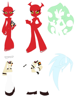 Scanty and Kneesocks Base (Request) by SelenaEde