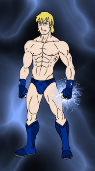 Thunder Blue - Color by 09tuf