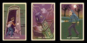 Haunted Tarot Cards by LauraDollie