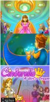 Cinderella A Girl Dream by smallguydoodle