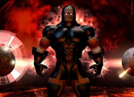 On the Darkseid of the Moons by TheGeminiDream