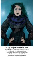 Green Gothic Fairy Stock 002 by MADmoiselleMeliStock