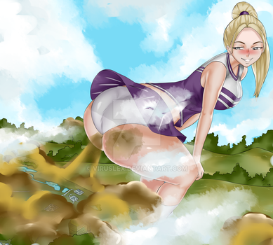 Megan the Farting Giantess by VirusLEX