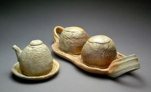 Wood Fired Condiment Tray by YuishCeramics