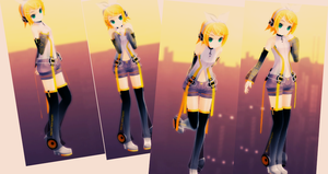 [MMD] 4 Pose pack by Nyashkaa