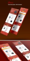 Xmas  Email Newsletter PSD Template by CreativeCrunk
