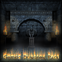 Gothic Dungeon Set Img1 by Zagreb-Dubrava