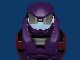 Halo Spartan Made in Blender 5 by AndyDaRoo