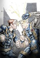 Cable vs xman by Vinz-el-Tabanas