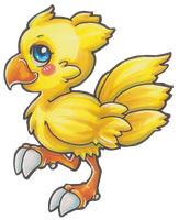 COPIC: Chocobo by LaGunn
