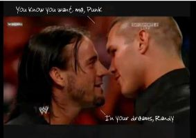 CM Punk and Randy Orton by xStraightEdgexPunkx