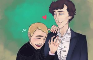 I'm glad I amuse you, John by applejaxshii