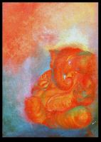 Ganesha Painting by brmithun