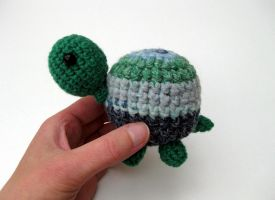 Amigurumi Turtle by Poopycakes-makes