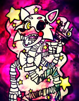FNAF - It's Mangle! by TeaLadyC8LIN