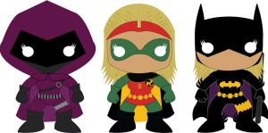 Stephanie Brown- POP Heroes Style by POPPED-UP