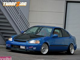 FATLACE Honda Civic by CJ-D3S16N