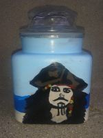 pirate jar by LunasCreations