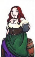 BBWench by rachelillustrates