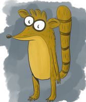 Rigby by kat-in-the-box