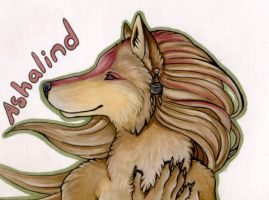 Ashalind Badge by SpottedNymph