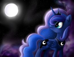 Princess Luna by B---K