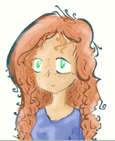 Curlier Red Hair by Soapy-Lump-Nugget