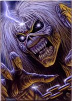 ACEO Iron Maiden Card 3 by taplegion