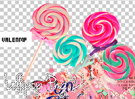 Lollipop PNG Pack 2! by ValenMp