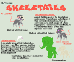 MLP Species: Skeletails by TheFallingpiano