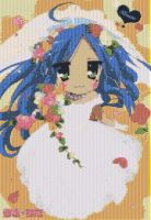 Konata Wedding Mosaic by smallrinilady