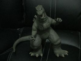 Godzilla clayMAX: battle pose by SeanSumagaysay