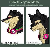 Improvement meme by Rinermai