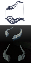 dragon horn accessory process by N647
