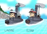 Laverne and Elmyra by Dan-the-Countdowner