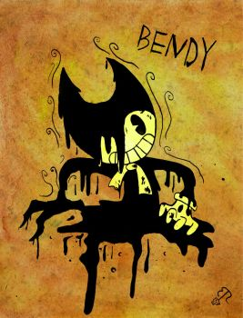 Bendy And The Ink Machine by Piddies0709