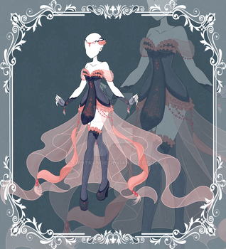 [Close]  Adoptable Outfit Auction 72 by LifStrange