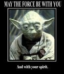 May the Force Be With You by Frodo-Lion