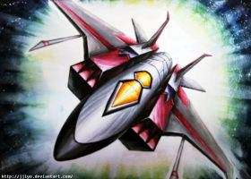 Starscream jet by Jjiyo