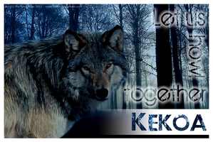 Let us howl together - Kekoa by titovn