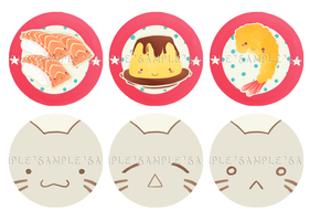Button pins - First set by midnight-satori