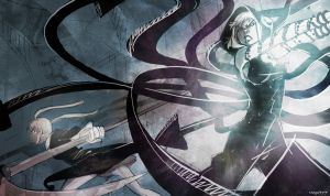 MEDUSA VS MAKA by lightmega777